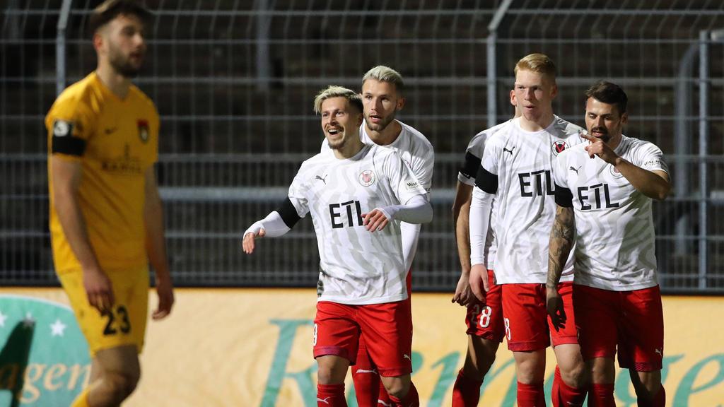 Lewerenz erzielt den Siegtreffer für Viktoria Köln