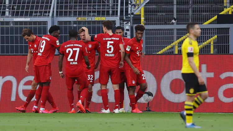 Der FC Bayern setzte sich gegen den BVB durch