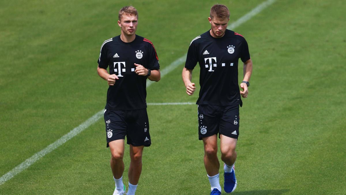 Haben Fiete Arp und Lars Lukas Mai eine Zukunft beim FC Bayern?