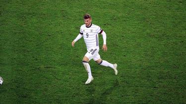 Timo Werner erzielte den Treffer für das DFB-Team