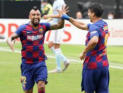 Suárez y Vidal ya no cuentan para el Barcelona.