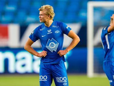 Erling Håland schaffte bei Molde unter Ole Gunnar Solskjær den Durchbruch