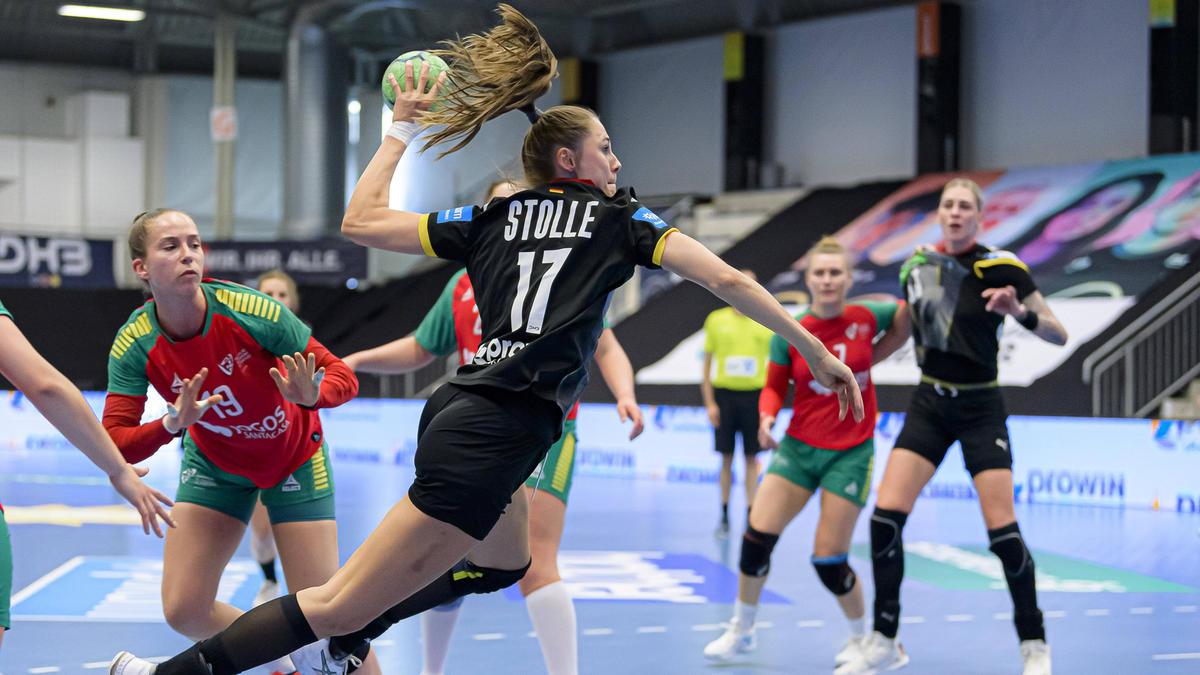 Die deutschen Handballerinnen haben das Ticket für die WM in Spanien gelöst