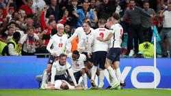 Inglaterra celebró a lo grande su pase a la ansiada final.