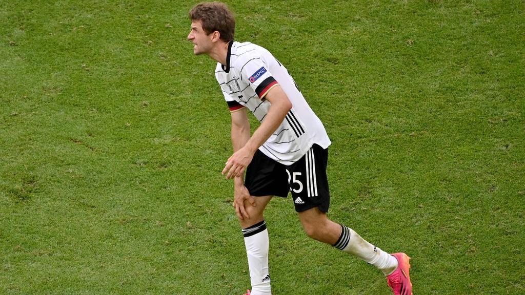 Die deutsche Fußball-Nation sorgt sich um Thomas Müller