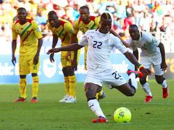 Afrika-Cup 2013: Wakaso trifft vom Elfmeterpunkt