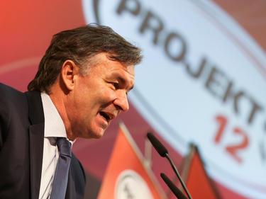 ÖFB-Sportdirektor Willi Ruttensteiner präsentierte eine Zwischenbilanz und einen Ausblick vom Projekt 12