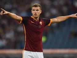 Edin Dzeko permanecerá finalmente en la Roma.