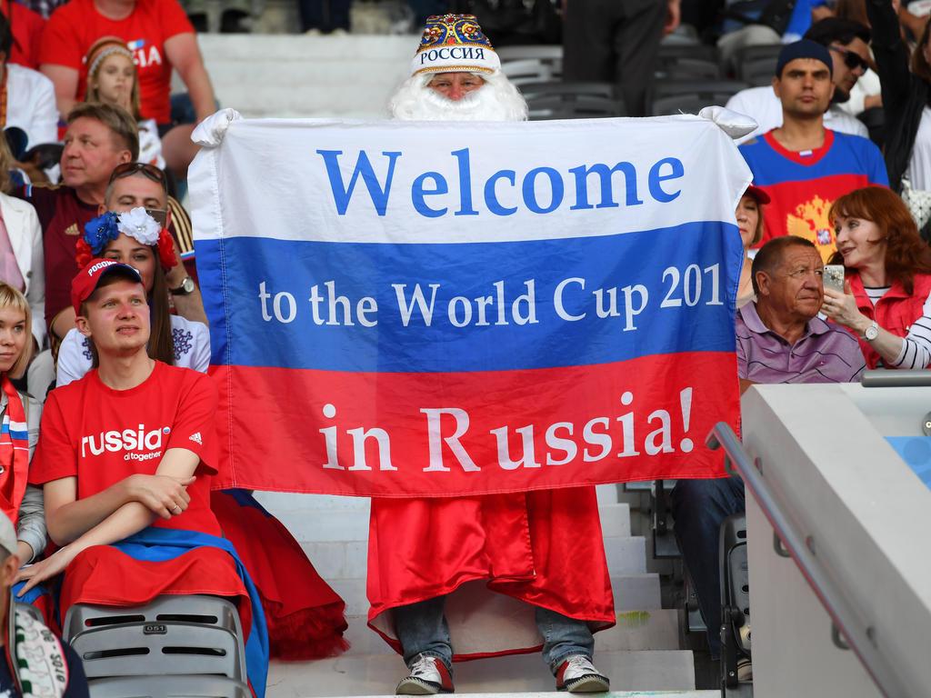 Russland begrüßt im Sommer die Fans zur Fußball-WM