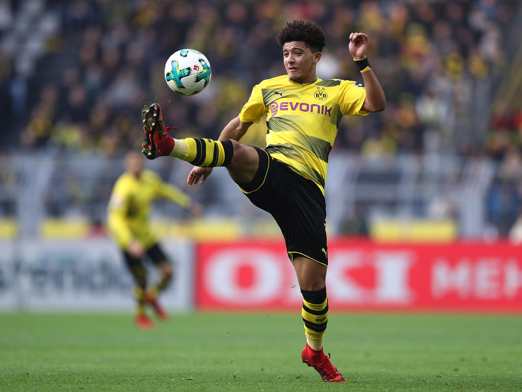 Jadon Sancho hat sich beim BVB gut entwickelt