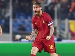 Daniele de Rossi führte die Roma zum Wunder vom Olimpico