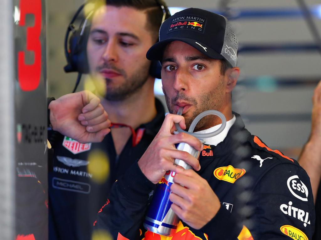 Daniel Ricciardo erteilte Valtteri Bottas eine Lehrstunde im Überholen