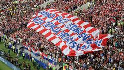 Unter den drei Millionen Zuschauern waren auch etliche Kroaten