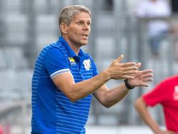 SKN-Trainer Dietmar Kühbauer will weitermachen wie bisher