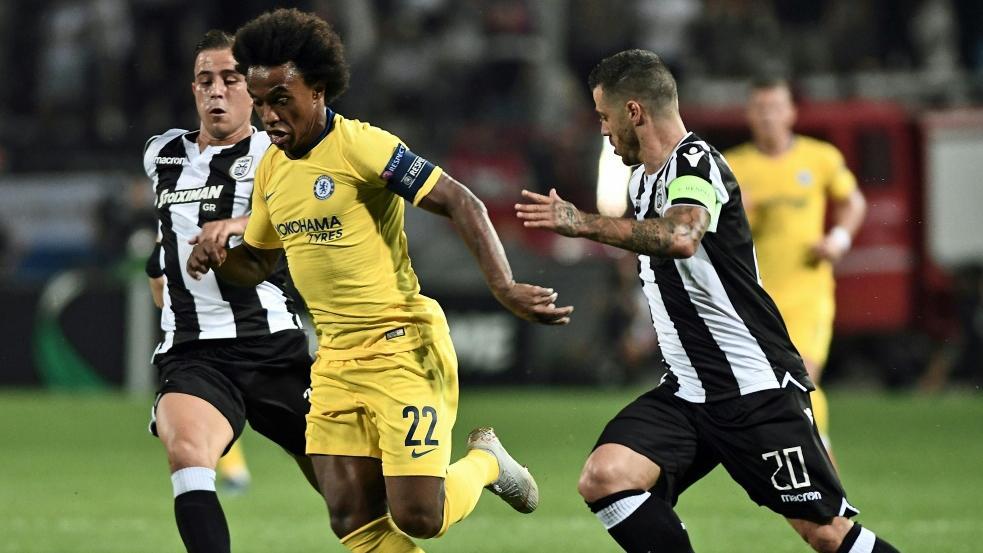 Chelsea gewinnt dank William zum Auftakt in Thessaloniki
