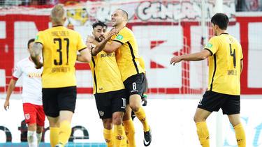Dynamo Dresden hat sich mühelos gegen Darmstadt durchgesetzt