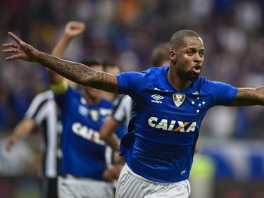 Dedé celebra un tanto con el Cruzeiro. (Foto: Getty)