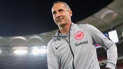 Adi Hütter übernahm im Sommer das Traineramt bei Eintracht Frankfurt