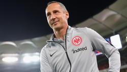 Adi Hütter greift in der Europa League nach dem Gruppensieg mit Eintracht Frankfurt