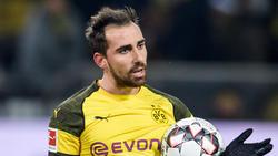 Paco Alcácer überzeugt beim BVB bislang nur als Joker