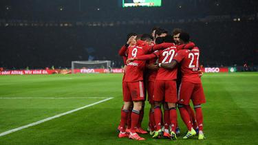 FC Bayern, Schalke und HSV weiter im DFB-Pokal vertreten
