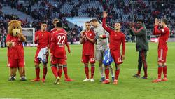 Der FC Bayern mühte sich zum Sieg gegen Hertha BSC