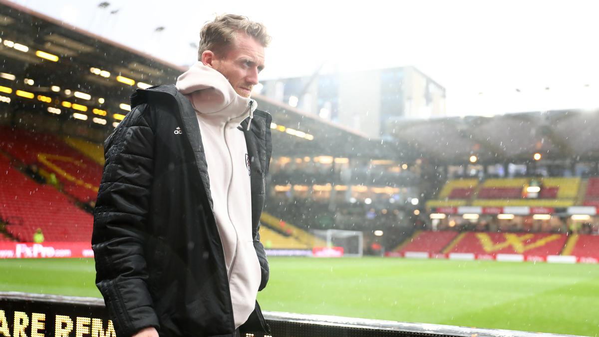 André Schürrle ist mit dem FC Fulham vorzeitig aus der Premier League abgestiegen