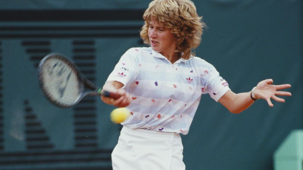 Steffi Graf gewinnt 1987 erstmals die French Open