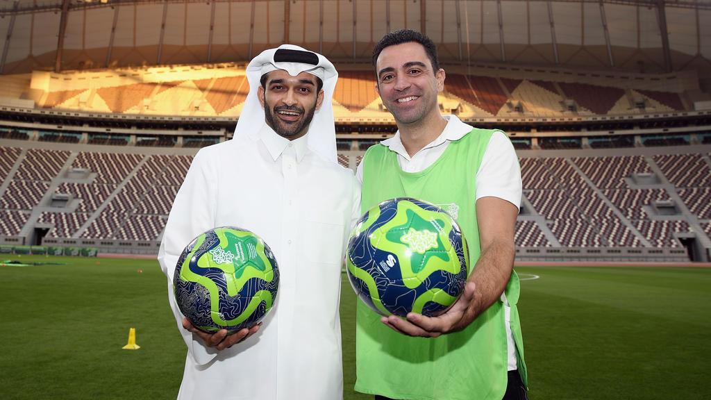 Xavi beginnt seine Trainerkarriere