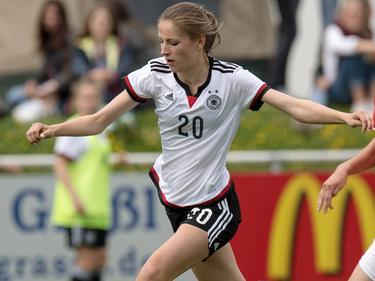 Melissa Kössler schießt die deutschen U17-Juniorinnen ins EM-Halbfinale