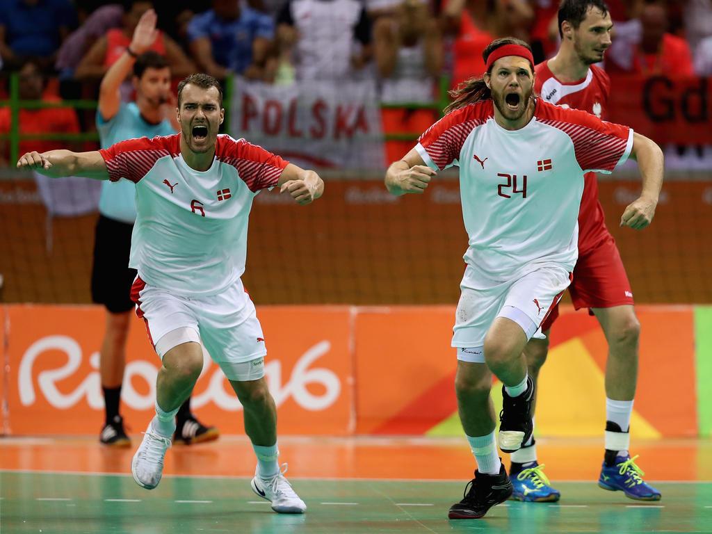 Dänemark hat sein erstes EM-Spiel in Kroatien gewonnen