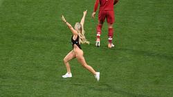 Kinsey Wolanski erlangte als Flitzerin im Champions-League-Finale große Bekanntheit