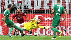 Die Fiorentina knackt Milan