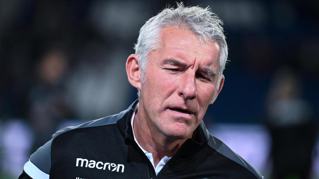 Mirko Slomka musste als Trainer von Hannover 96 seinen Hut nehmen