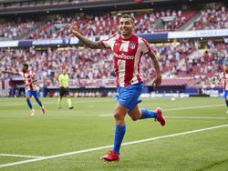Correa volvió a ser el goleador colchonero.