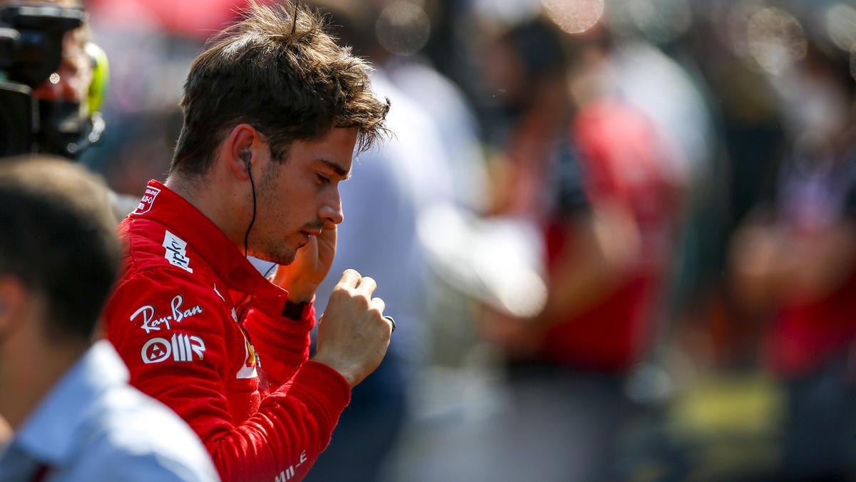 Kein Formel-1-Podest für Charles Leclerc in Monza