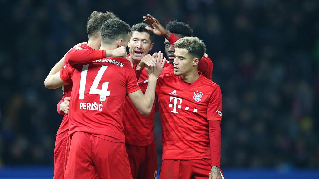 FC Bayern gewinnt deutlich bei Hertha BSC