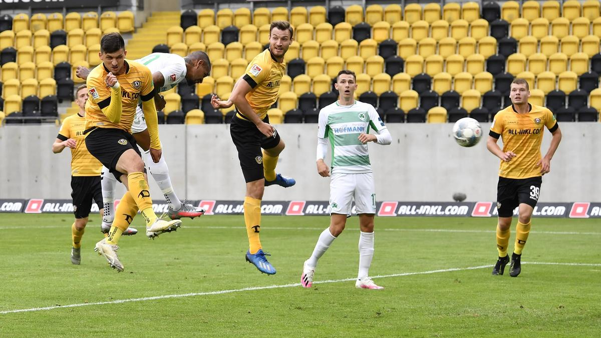 Dynamo Dresden und Greuther Fürth teilen die Punkte