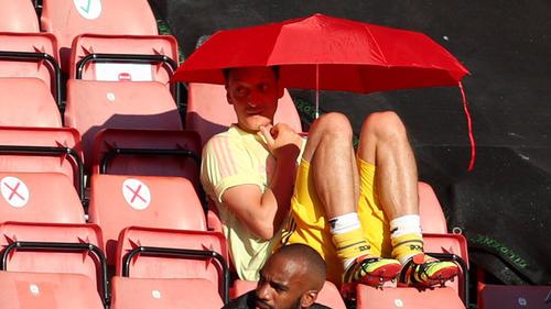 Erneut nicht im Kader des FC Arsenal: Mesut Özil
