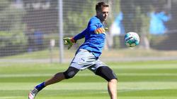Alexander Schwolow trainiert seit dieser Woche bei Hertha BSC mit