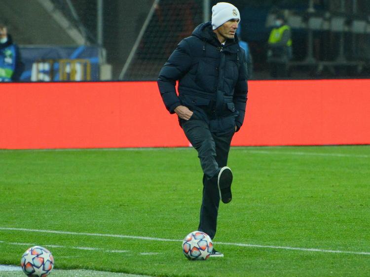 Zidane se siente aún con ánimos para remontar con su equipo.
