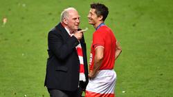 Uli Hoeneß wollte Robert Lewandowski unbedingt beim FC Bayern sehen