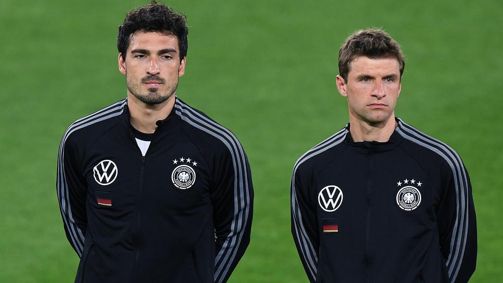 Mats Hummels (l.) und Thomas Müller spielen wieder für Deutschland