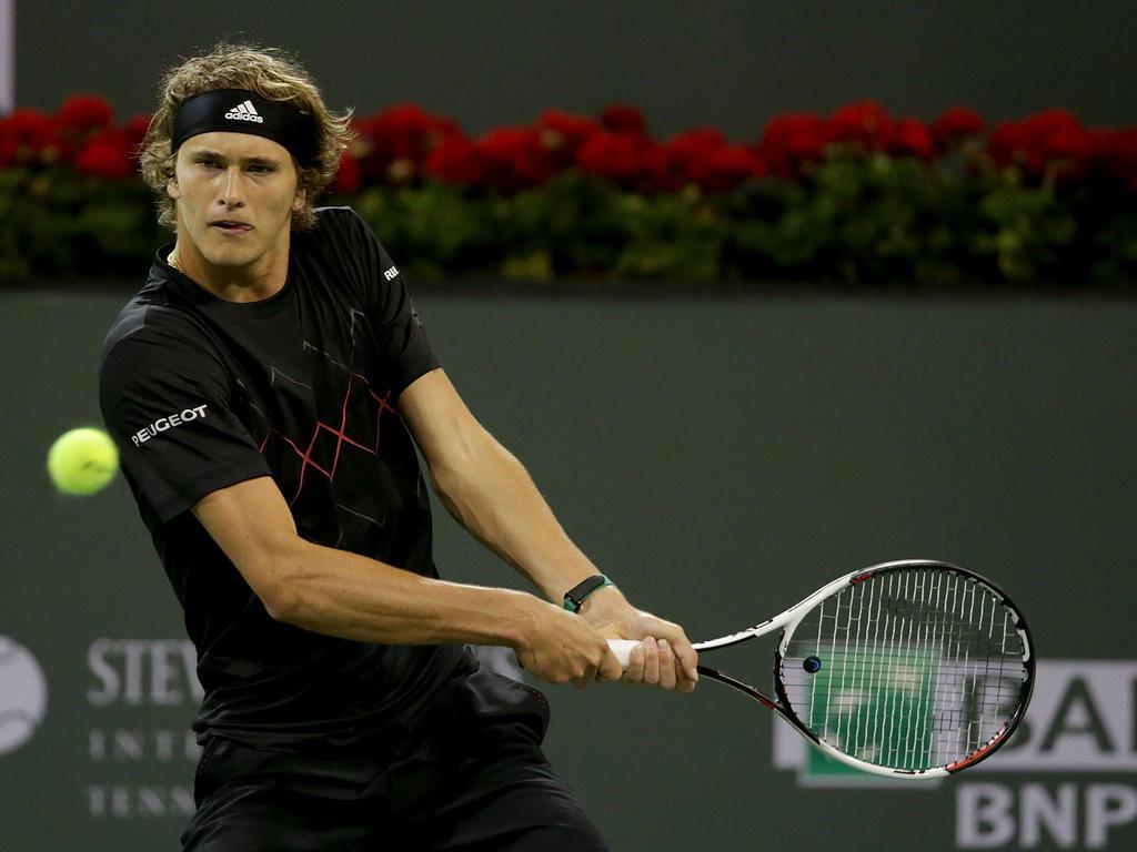 Alexander Zverev hat die dritte Runde in Miami erreicht