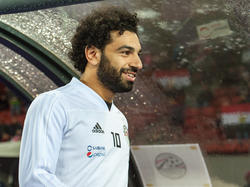 El martes, Salah de 25 años estuvo presente pero entrenó aparte. (Foto: Getty)