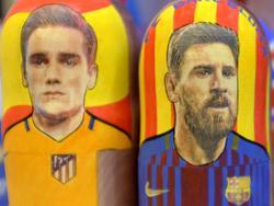 Antoine Griezmann und Lionel Messi sind die Stars ihrer Mannschaften