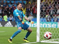 Ospina con Colombia en el Mundial. (Foto: Getty)