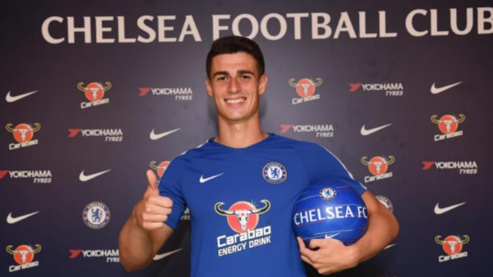 Kepa ya luce la camiseta de los 'Blues'. (Foto: Chelsea FC)