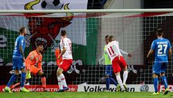 Timo Werner erzielte beide Tore für die Roten Bullen