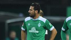Wadenprobleme bei Altstar Claudio Pizarro